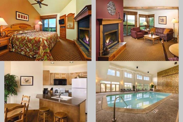 2 Bedroom Wyndham Galena, IL - Galena - Lägenhet