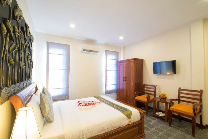 Walking Distance: Private Deluxe Room - Krong Siem Reap - Huoneisto