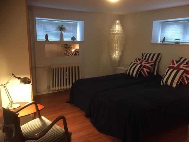 A doubleroom near Aarhus. - Hammel