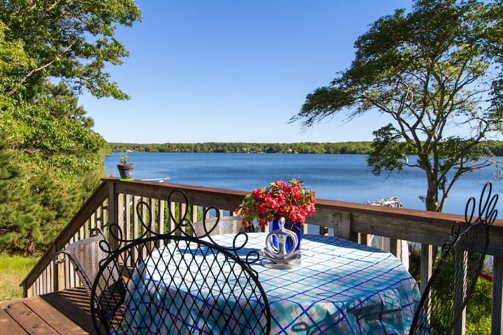 Spectacular cozy lakefront cottage - Harwich - Casa