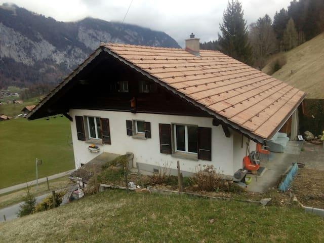 Freistehendes Einfamilienhaus - Diemtigen - Casa