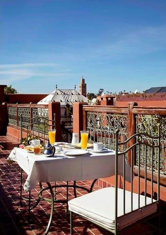 Chambre privè dans un appartement - Marrakech