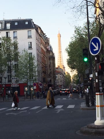 Cosy Studio near Eiffel tower and subway station - París - Departamento