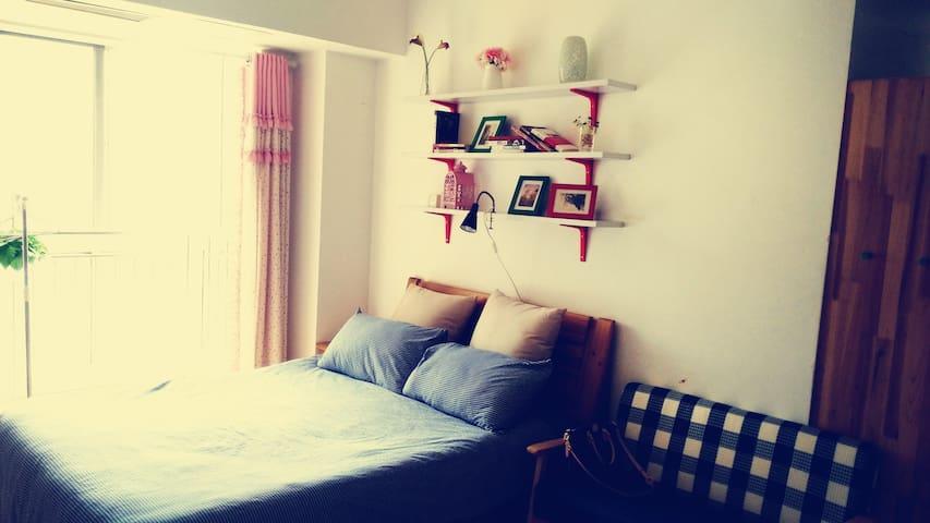 位于大学城两个肥宅攻城狮经营的小空间大有趣短租公寓,合肥二胖 - Hefei - Appartement