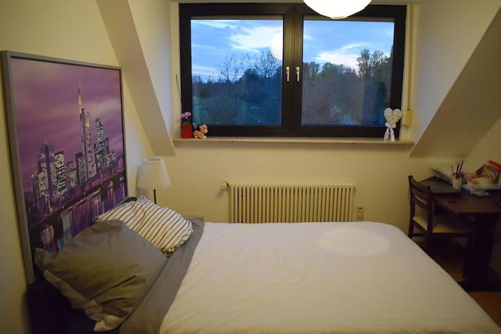 Private Room with S-Bahn connection to city center - Frankfurt am Main - Huoneisto