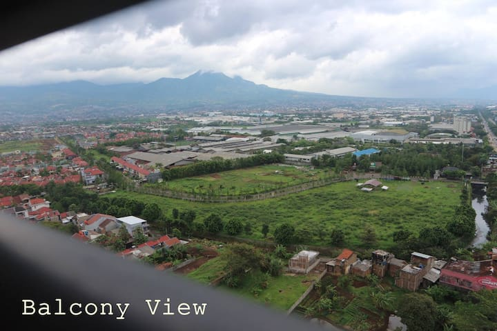 Cozy Apartment (2 Bedroom) in Bandung City - Cinambo - Appartement