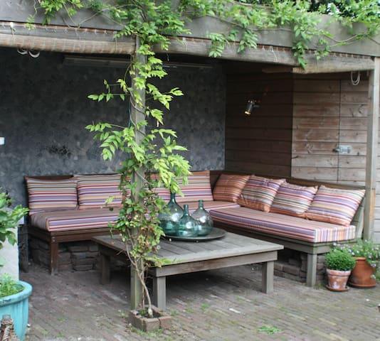 Family summer home near beach, Amsterdam & Haarlem - Overveen - Hus