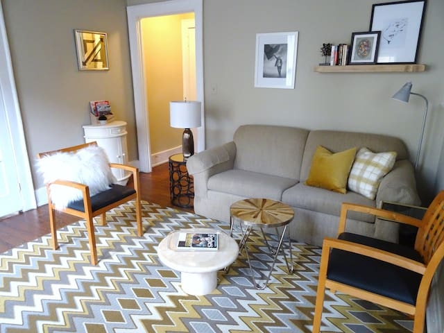 UAB APT. w. 5 min WALKING to Shopping and Dinning - Birmingham - Departamento