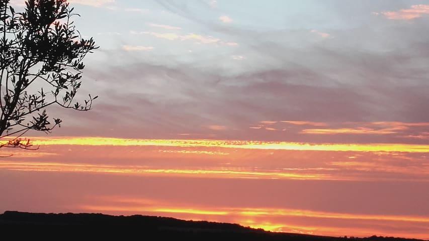 Le Soleil Couchant - Nampty