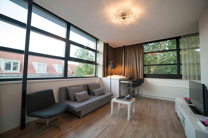 Light, lovely, central apartment in NIJMEGEN - Nijmegen - Appartement en résidence