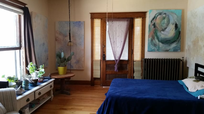 Cozy Art Cove/One Bedroom Apt - Lincoln - Departamento