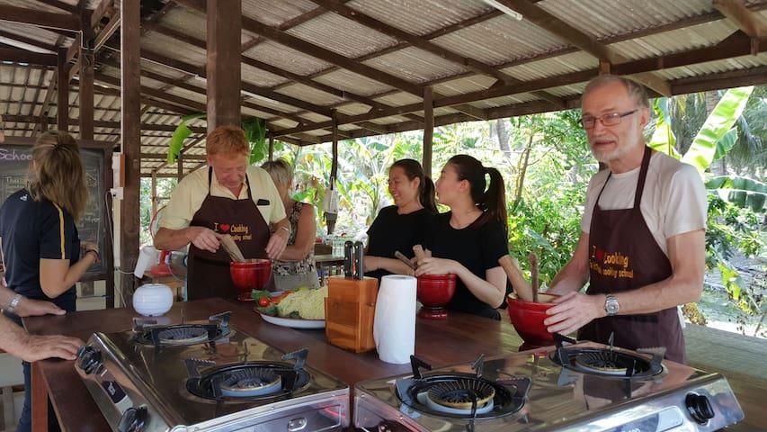Cooking Tour - Tambon Kradangnga - 獨棟