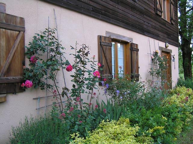 Chambre d'Hôtes N°1 dans maison, pleine nature-Lot - Loubressac