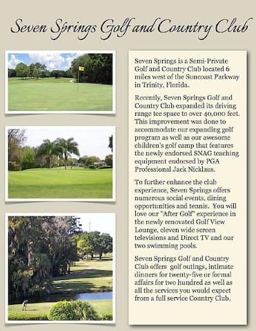 Golf Course Community Villa in a great location! - New Port Richey - Villa
