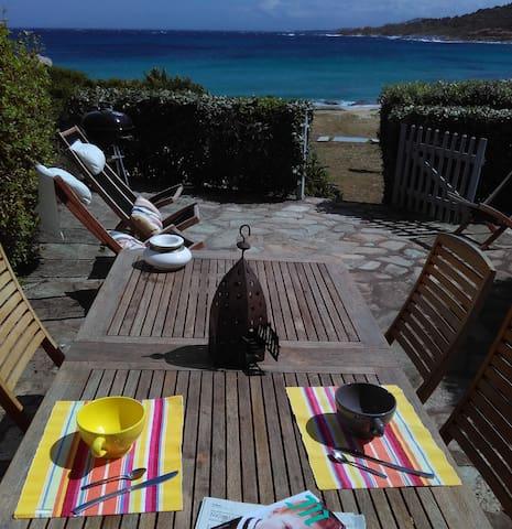 Maison sur la plage - 2 chambres - Lumio - Hus