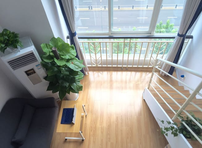 DT cozy LOFT w Elevator / 24h Check-in - Chengdu  - Appartement