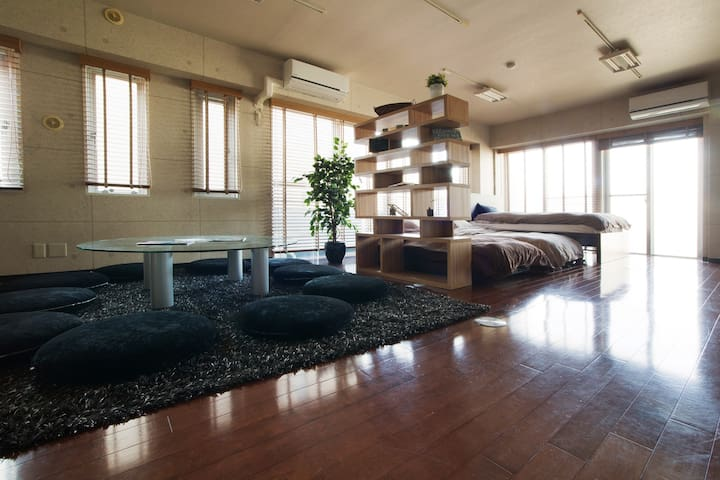 Spacious, Bright & Modern Home, 1min to station! - 世田谷区 - Leilighet