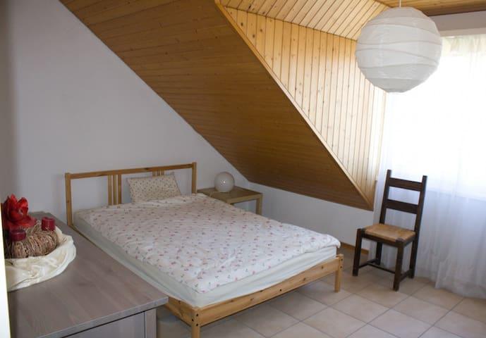 Chambre dans appartement à 500 m EPFL et Lac - Ecublens - Lägenhet