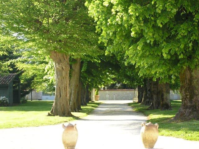 Maison a l'ombre des tilleuls. - Saint-Martial-de-Vitaterne - Hus