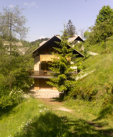 Spacious house surrounded by animals - Črni Vrh - Rumah