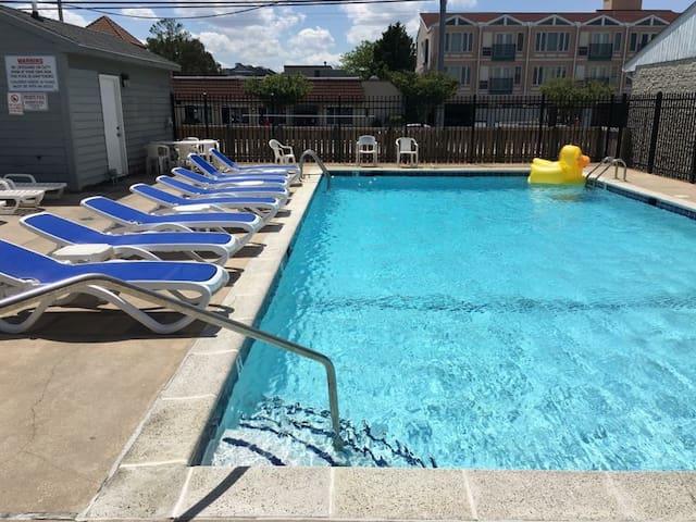 Great Views, 4 Bedroom, Oceanblock House w/ Pool! - Dewey Beach