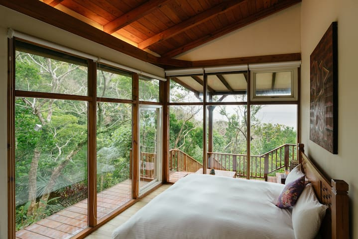 Hualien : Haiyan, A Log Cabin Resort - Shoufeng Township - Rumah