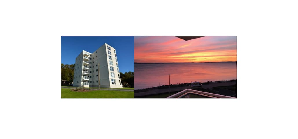 2 Bedroom Flat with Spectacular Views from Balcony - Largs - Huoneisto