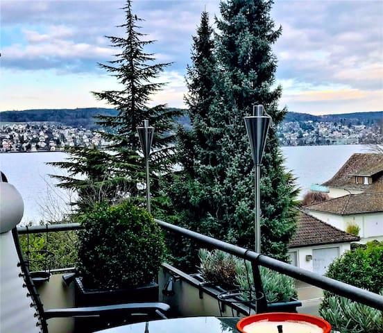 Very large lake apartment w/ garage - Kilchberg - Departamento