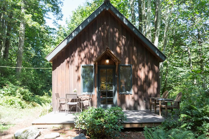 Forest Cabin + Private Beach - Camano Island - Casa de campo