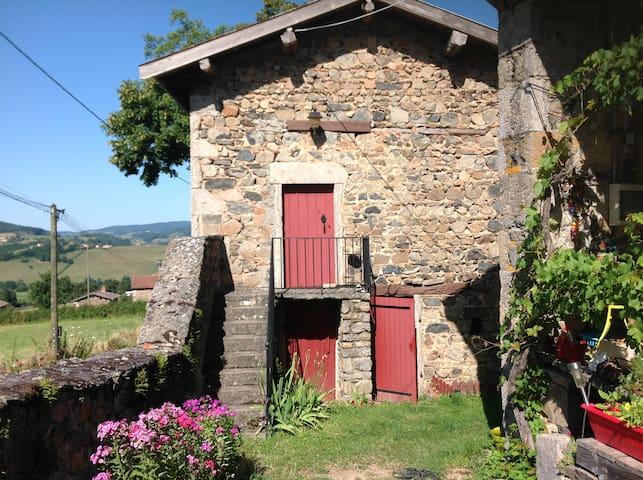 La Petite Maison de Montillet - Tramayes - Hus