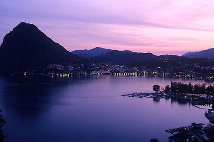 Beautiful chalet on Lugano Lake - Porlezza - Kulübe