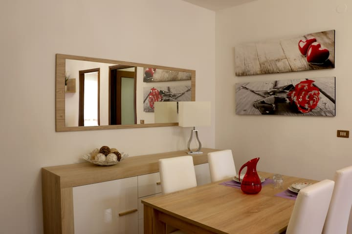 2-room apartment, 1 bathroom, 70mq Town Centre - Noventa di Piave - Appartement