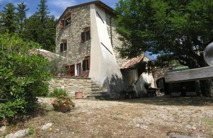 Panoramic restored Tuscan farmhouse with pool - Scarperia - Villa