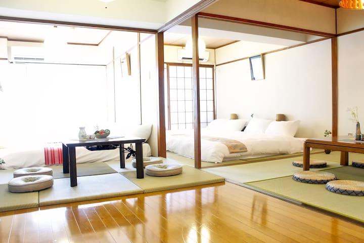 Up to 14p 1 min Peace Park, Wonderful huge house ! - Hiroshima-shi - Квартира