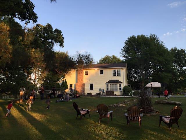 WolfOak Vegetarian Guesthouse & Urban Horse Farm - Piedmont - Casa
