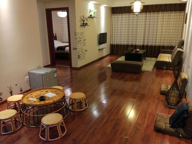 位于湄公河畔阳光充沛的泰式家庭公寓--小丙'S HOUSE - Xishuangbanna - Huoneisto