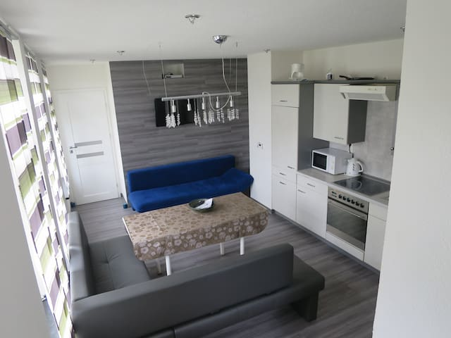Kleine gemütliche Einlieger-Wohnung in Krauschwitz - Krauschwitz - Apartament