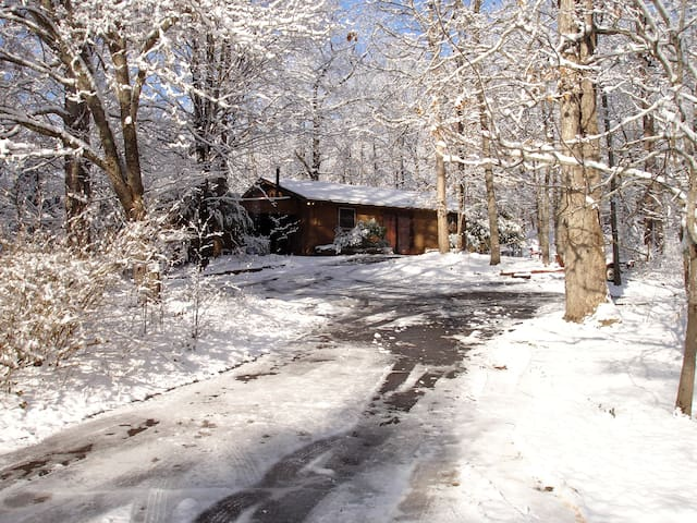 Cottage on 15 Acres 7.9mi/13min-Clemson University - Central - Hus