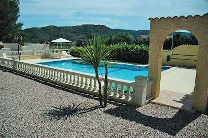 Les Ecologies Gite 1  with pool sleeps 4 - Cessenon-sur-Orb - Villa