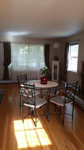 Log home and a Peace-ful room - Nashua
