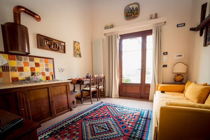 Miniflat with panoramic swimming pool at L'Olmo - Bettona - Appartement