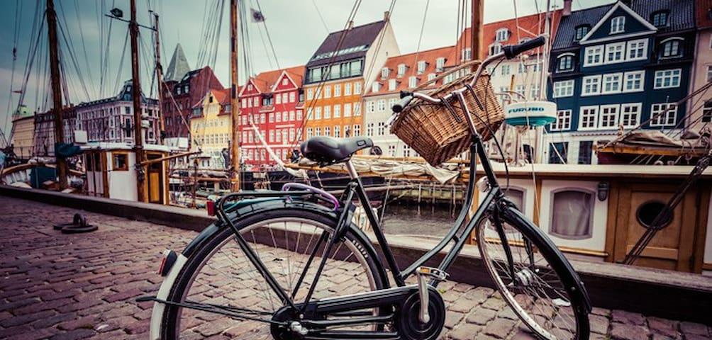 Lovely 3-room apartment close to city center - København - Leilighet