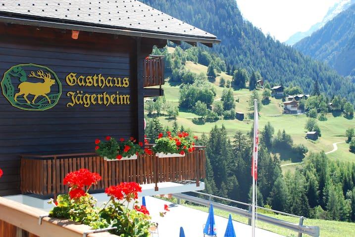 Ferien im Landschaftspark Binntal - Ausserbinn - Bed & Breakfast