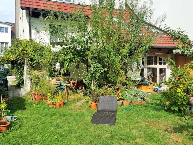 Cozy and warm room near to Freiburg - Kirchzarten - Daire