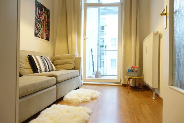 großes Apartment zentral - Leipzig - Apartemen