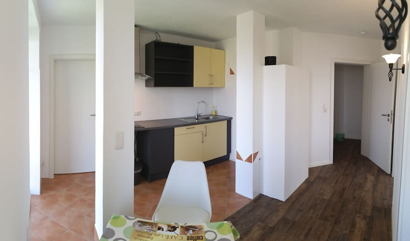 """Landhaus Apartment """"Seerose II"""" zwei Einzelzimmer - Wolnzach - Lägenhet"""