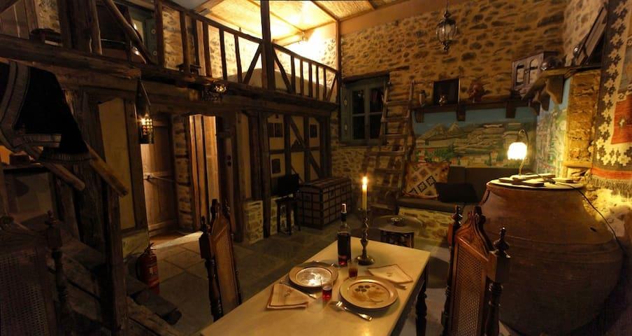 Cosy studio for romantic getaways - Ano Lechonia - Casa de huéspedes