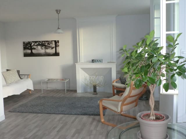 Light and airy apartment with charm - Barbezieux-Saint-Hilaire - Apartemen