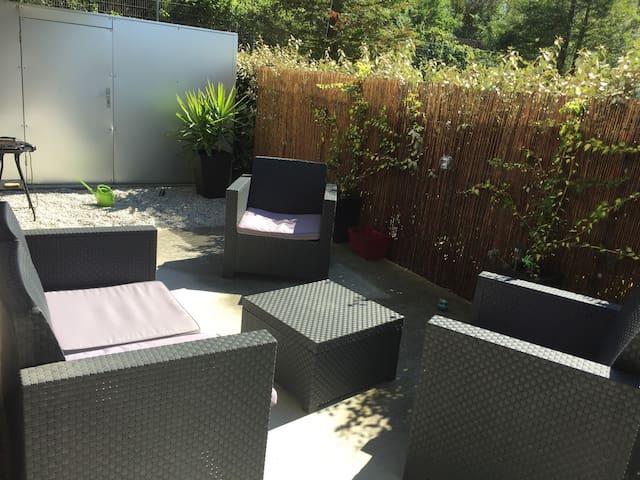 Appartement T2 40m2 moderne avec grande terrasse - Nantes - Daire