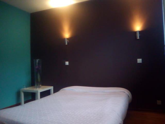 Chambre à 2 Pas de Genève Centre et de l'aeroport - Ferney-Voltaire - Appartement